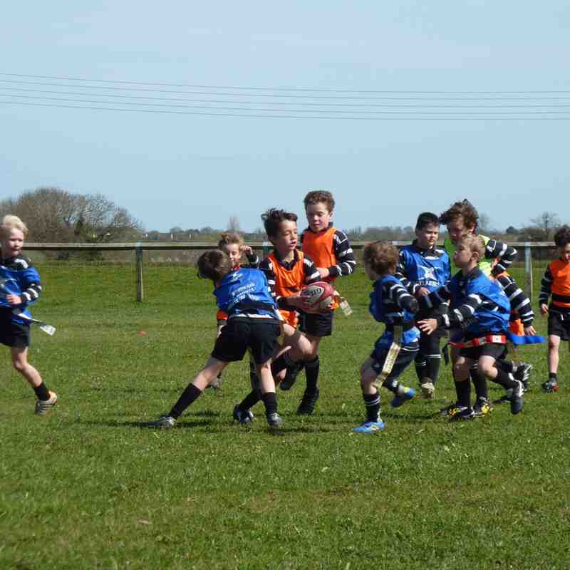 Under 8's Training 12th April 2015