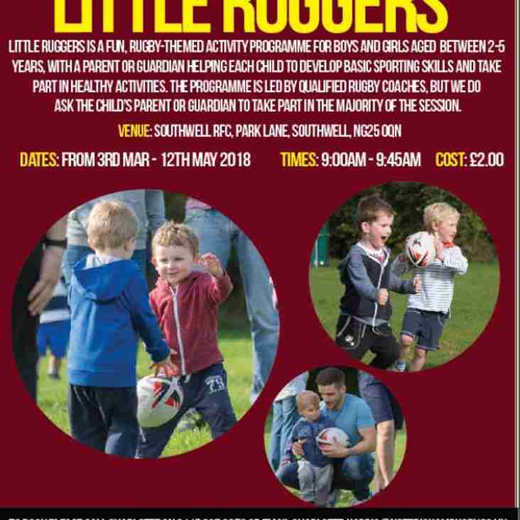 Little Ruggers Comes to Southwell RFC