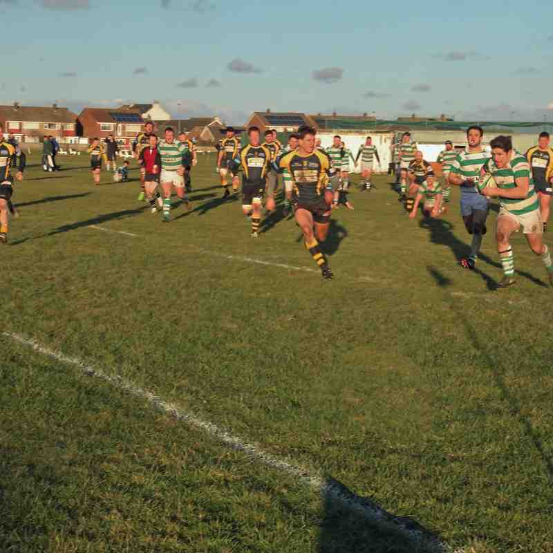 Guisborough 28 v 26 Gosforth    20.1.18