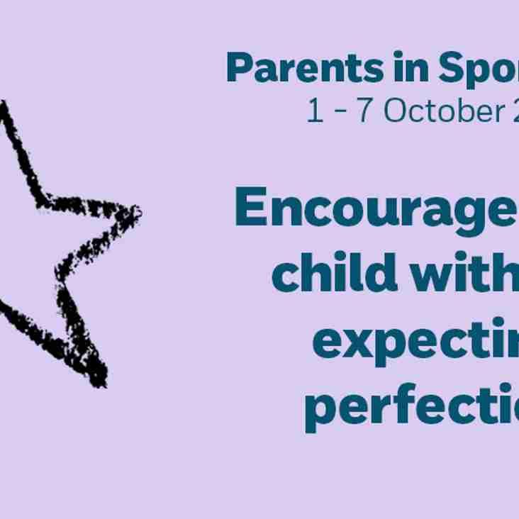 CPSU Parents in Sport Week 2018