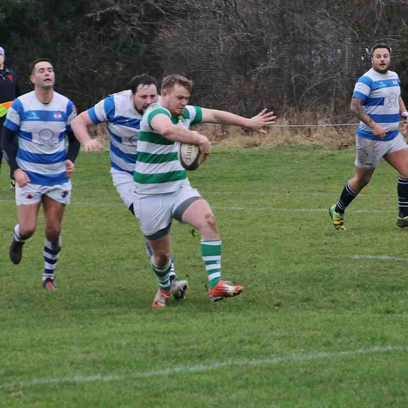 Gosforth 29 v 35 North Shields 5.01.2019