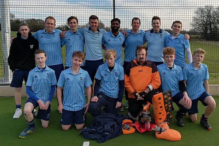 Men's 5 beat Newbury 2 - 0