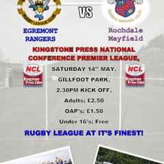Egremont Rangers V Rochdale Mayfield