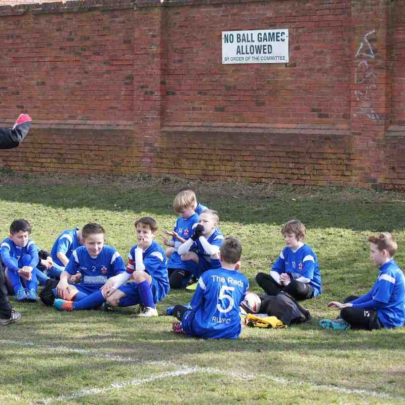 Steve Cartland U11 vs Bartley Reds 20 Mar 16