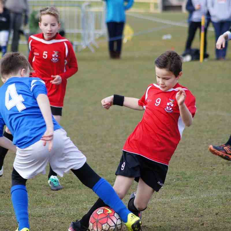 Steve Cartland U11 vs Inkberrow Falcons 3 Apr 16