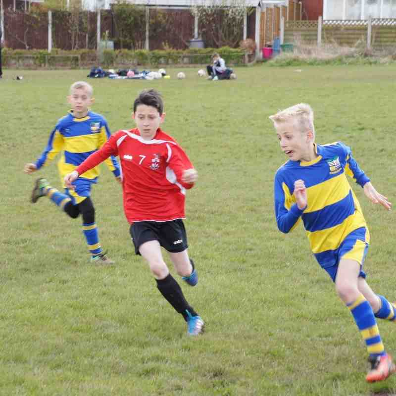 Steve Cartland U11 vs Solihull Moors Colts 17 Apr 16