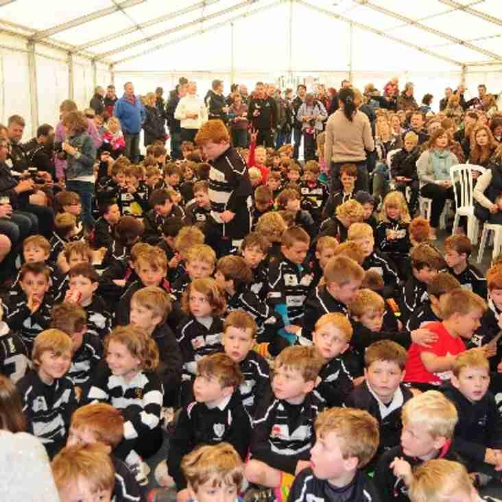 Mini Rugby at CRFC Starts Again Soon