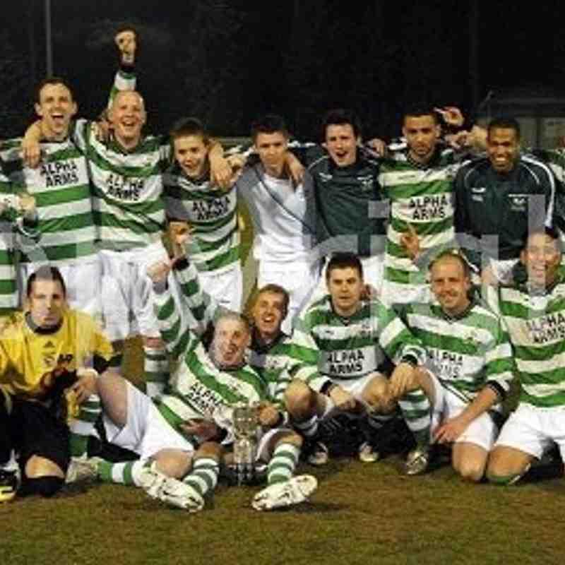 Slough Town Junior Cup Winners 2009