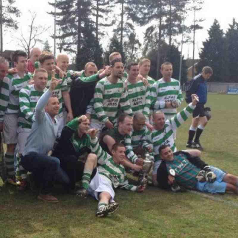 SLOUGH TOWN SENIOR CUP WINNERS 2012