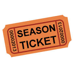 Admission Prices for 2016/17 season