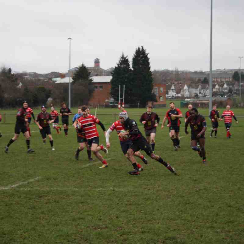 2nd XV - Rebels v Charlton Park 3rd's - 13th February 2016