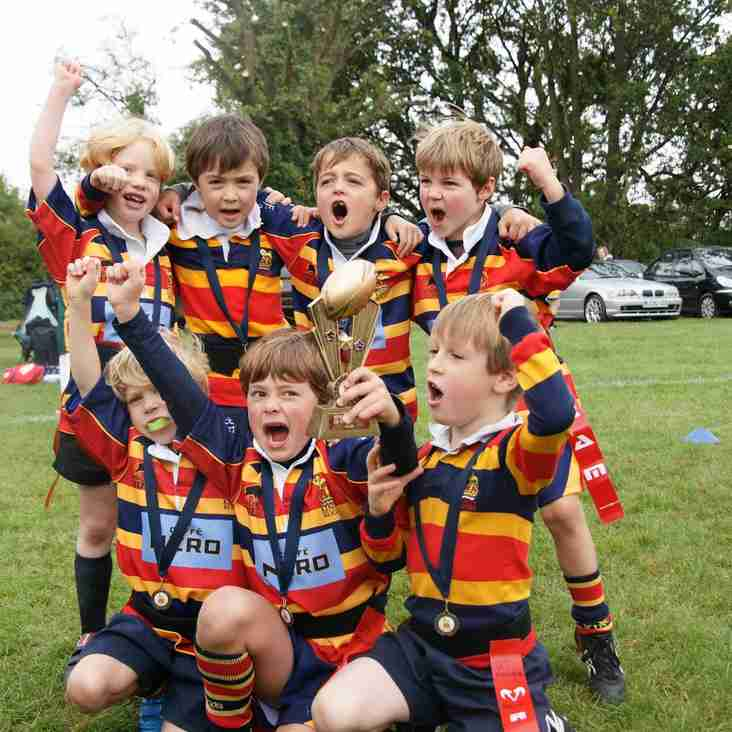 Mini and Junior Rugby Every Sunday 10 am to 12.
