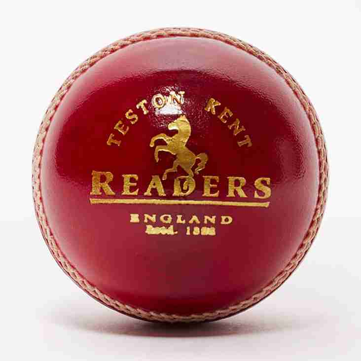 Mandated cricket balls for all CCCL competitions