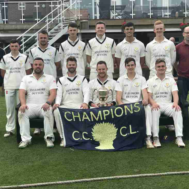 Chester Boughton Hall ECB Premier League Champions