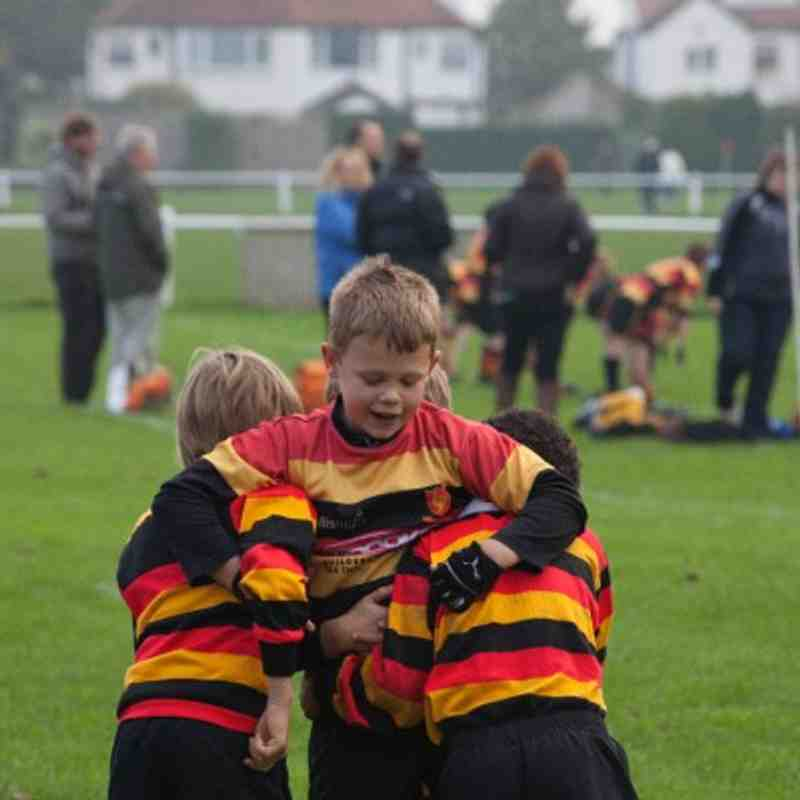 Under 9s Otley v Harrogate 10 Oct 2010