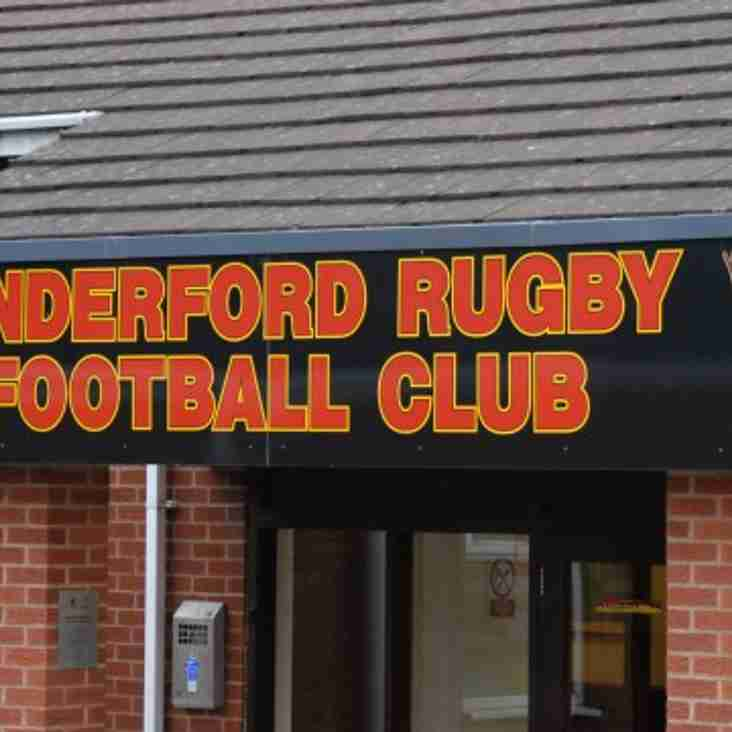 First team away to Gloucestershire based side Cinderford