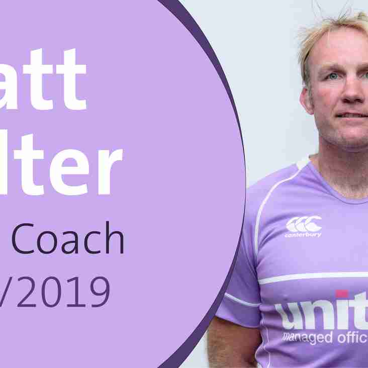 Clifton Rugby confirms appointment of Head Coach for 2018/2019