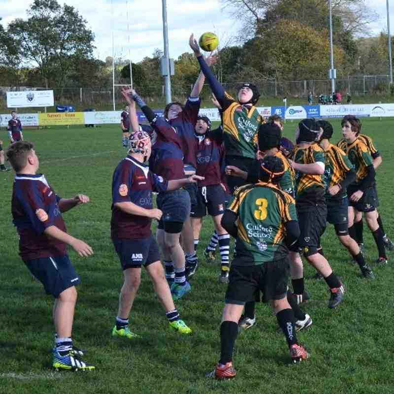 Sudbury RFC U14s v Bury St Edmunds U14s
