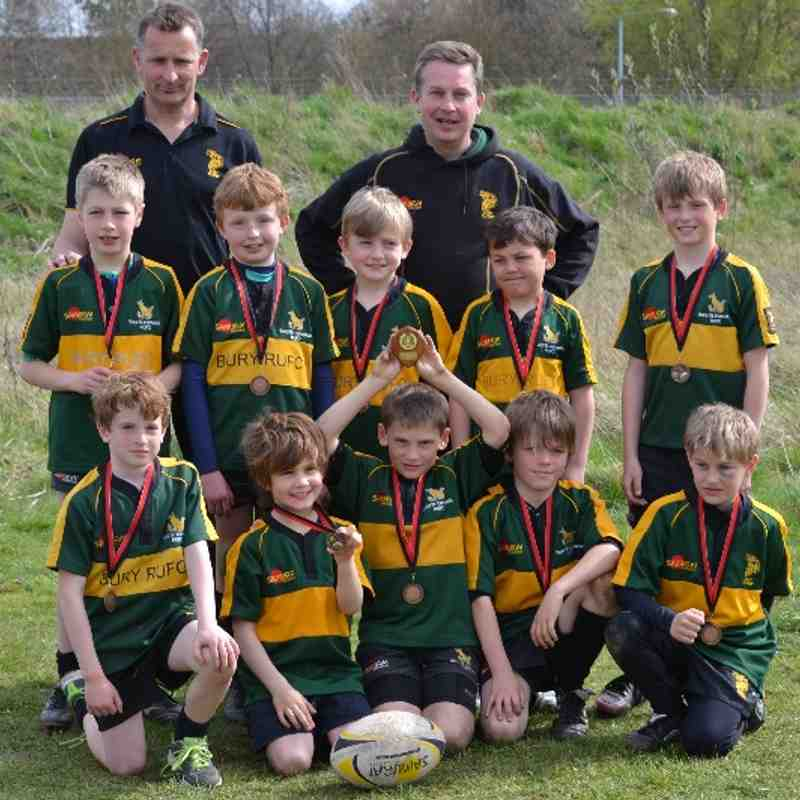 Bury St Edmunds U9s Win at Wendens Ambo Festival