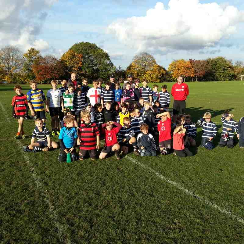 Saracens Rugby Camp 28 October 2015