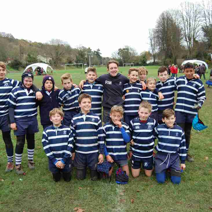 Mixed Results for the U12s Hawks Today at the Old Whits Festival
