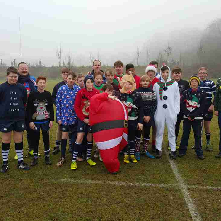 MERRY CHRISTMAS FROM THE U13s HAWKS