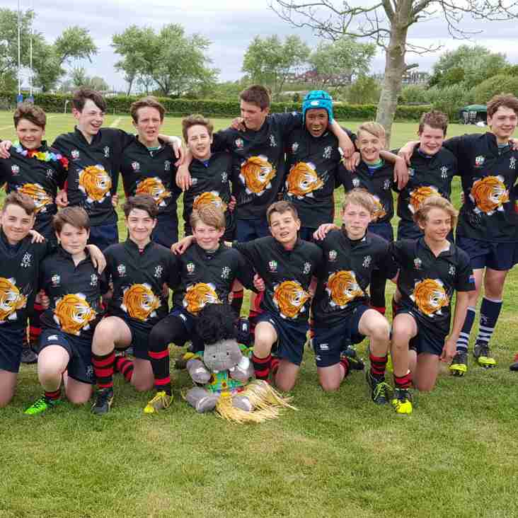 U13s HAWKS RUNNERS-UP AT CAMBER