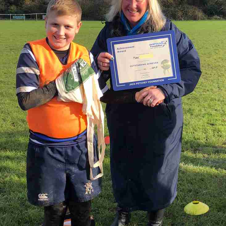 WP ANNOUNCE THEIR LATEST JACK PETCHEY AWARD WINNER