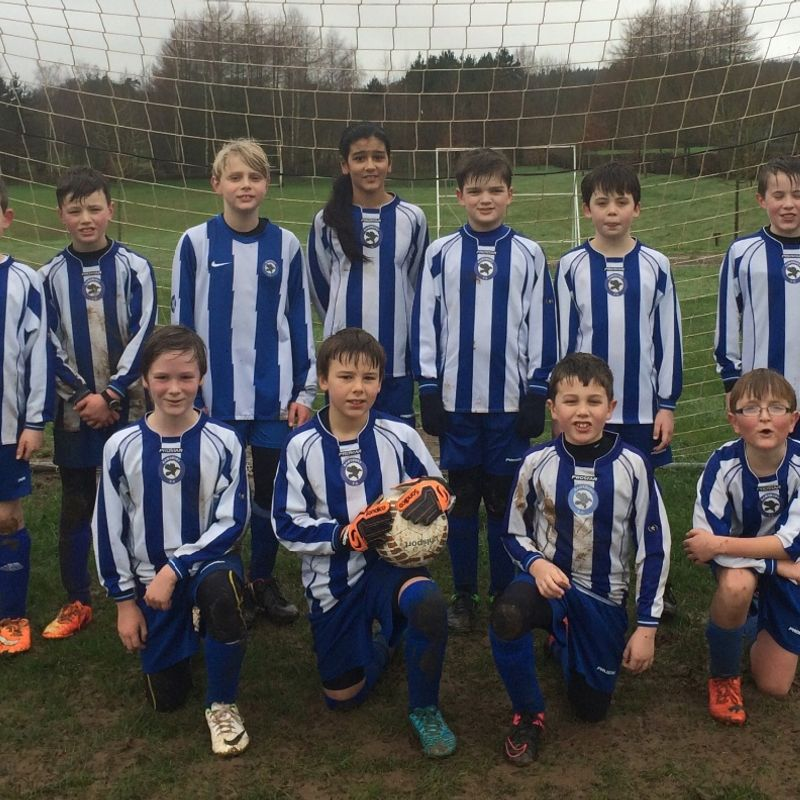 Ramsbury U 13 lose to South Cerney 1 - 4