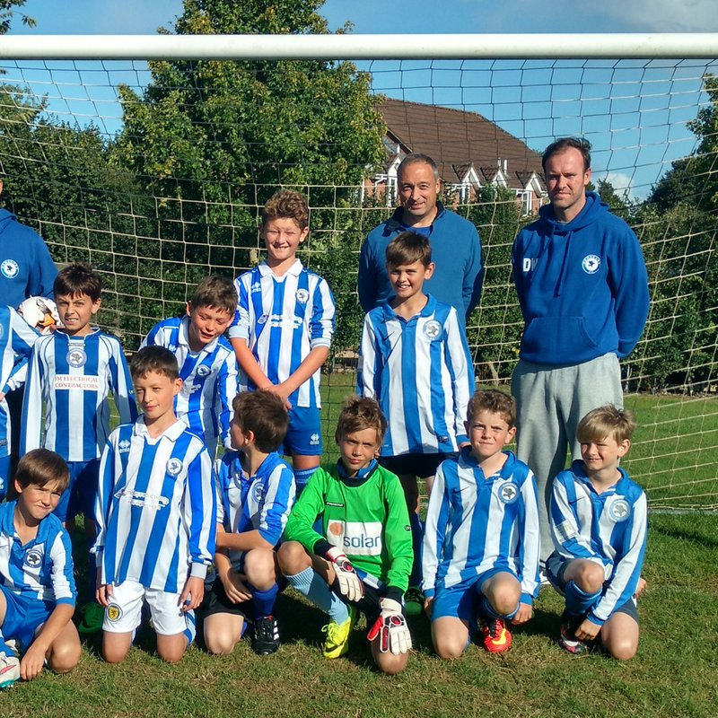 Ramsbury U 12 lose to AFC Newbury Red 0 - 8