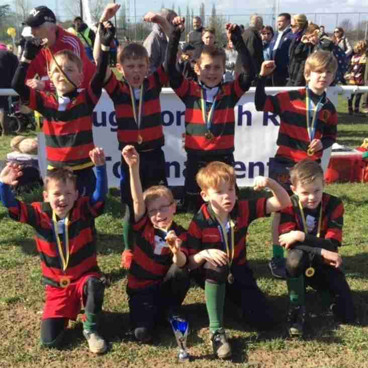 U8's come away from Loughborough with silverware