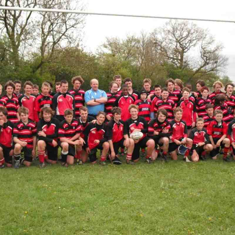 Under 14s tour to Castle Cary