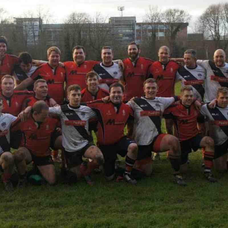 Walsall 3rd XV v Burton 20.12.14