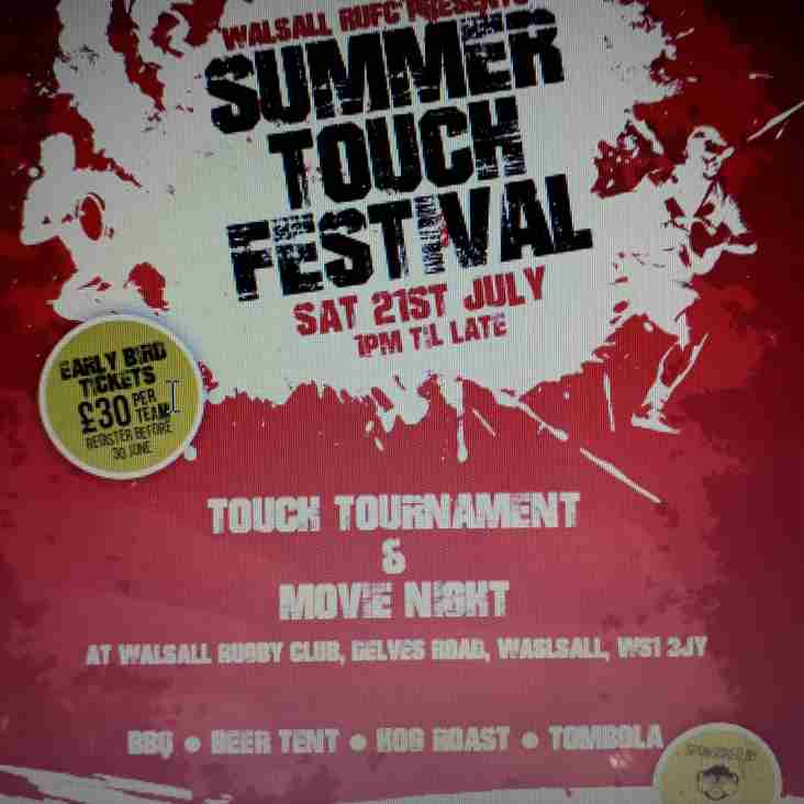 Summer Touch Festival