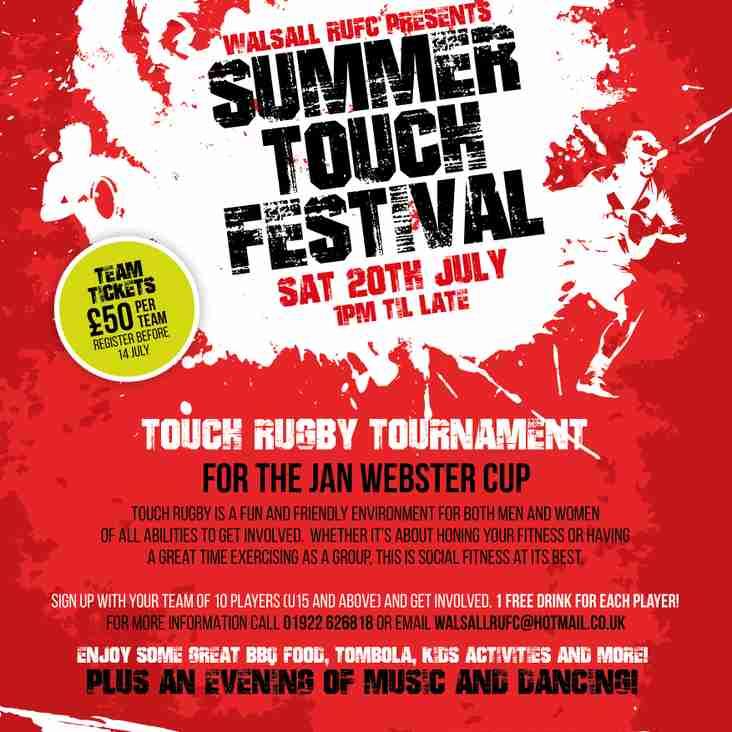 Summer Touch Festival