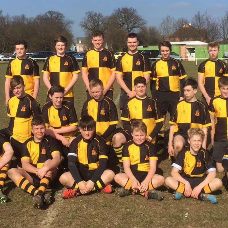 Under 16s beat Woodford 50 - 0