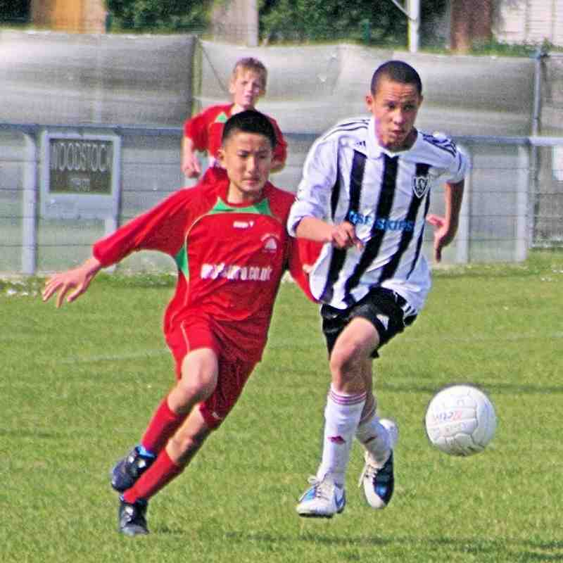 South Park U13s vs Warlingham - 1st May 2011