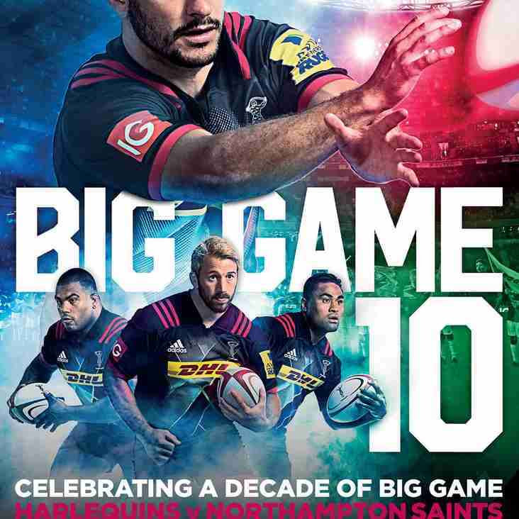 Big Game 10 Tickets - Please get your ticket orders in ASAP