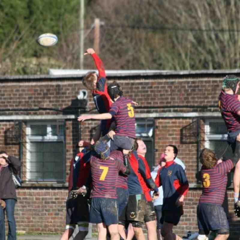 Fawley u16 RFC verses Trojans 9th Jan 2011