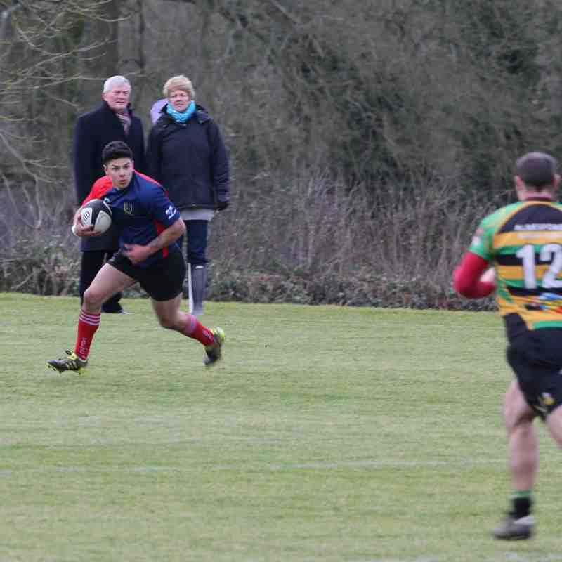 Fawley 1st vs Alresford 31st Jan 2015