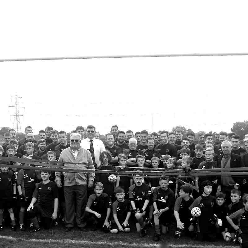 Fawley RFC pitch opening 10/10/2015