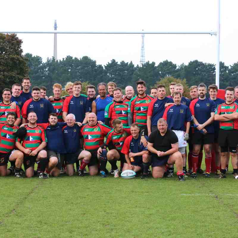 Fawley RFC pitch opening 10/10/2015