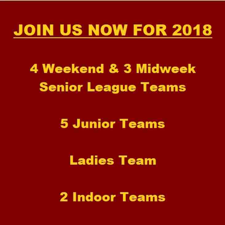 Join Us Now For 2018!