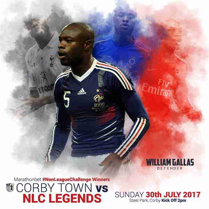 Gallas to play at Steel Park