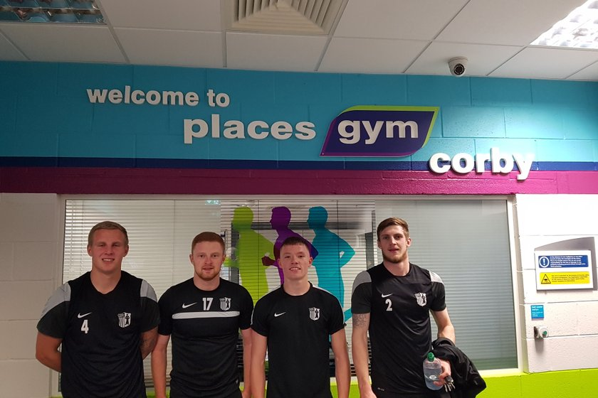 First team training at @PlacesGym