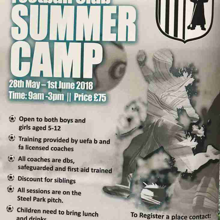 Corby Town Summer Camp