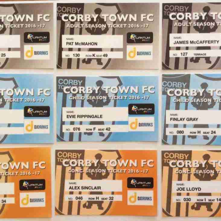 Season Tickets 2018/19