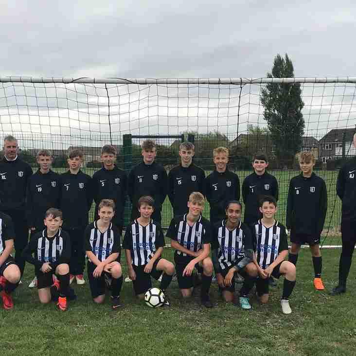 U14s start season with victory