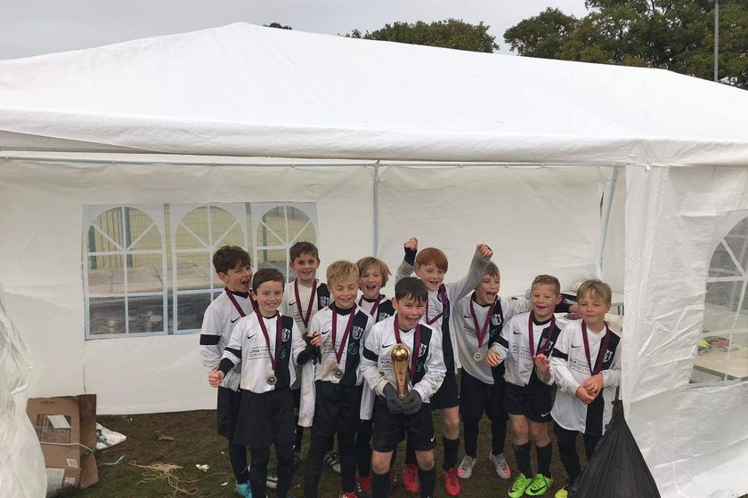 Corby Town under 9s