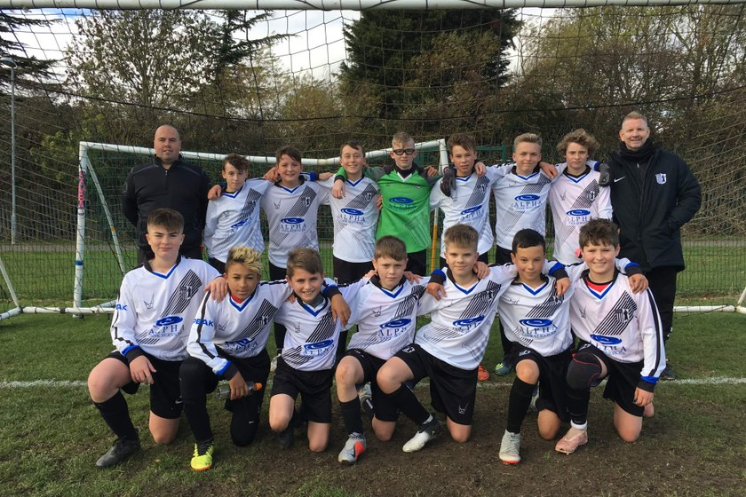 Mildenhall Town 0-5 Corby Town U13